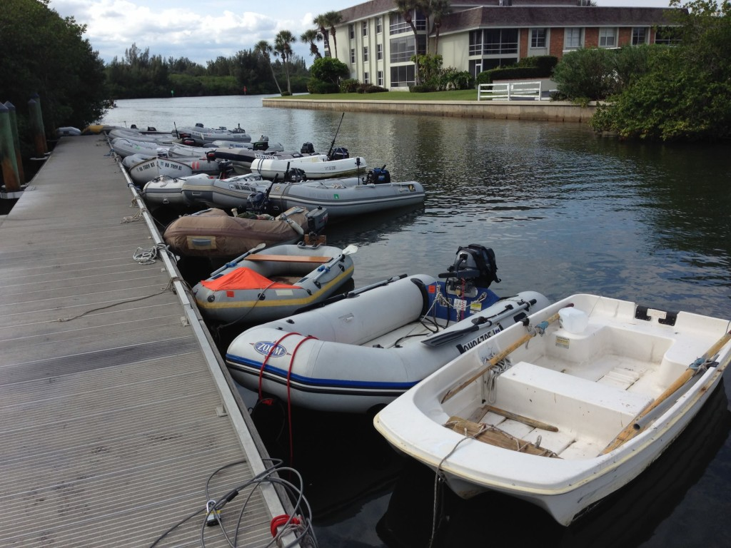 Vero Beach Dinghy Dock